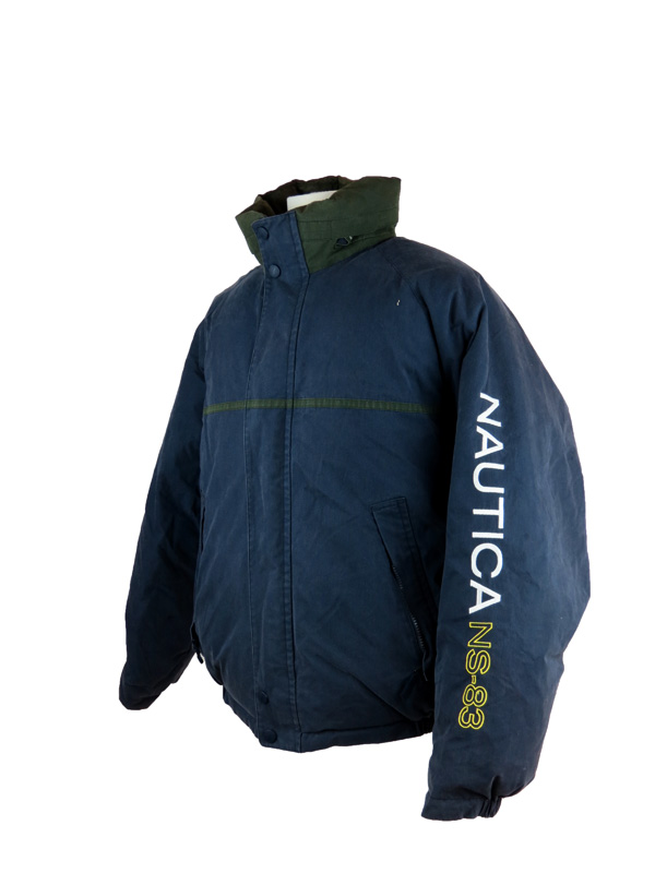 Vintage Nautica Reversible Down Jacket 5 Star Vintage