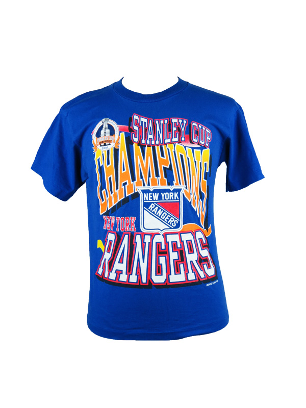 Vintage New York Rangers Stanley Cup T-Shirt - 5 Star Vintage d7a3a3737