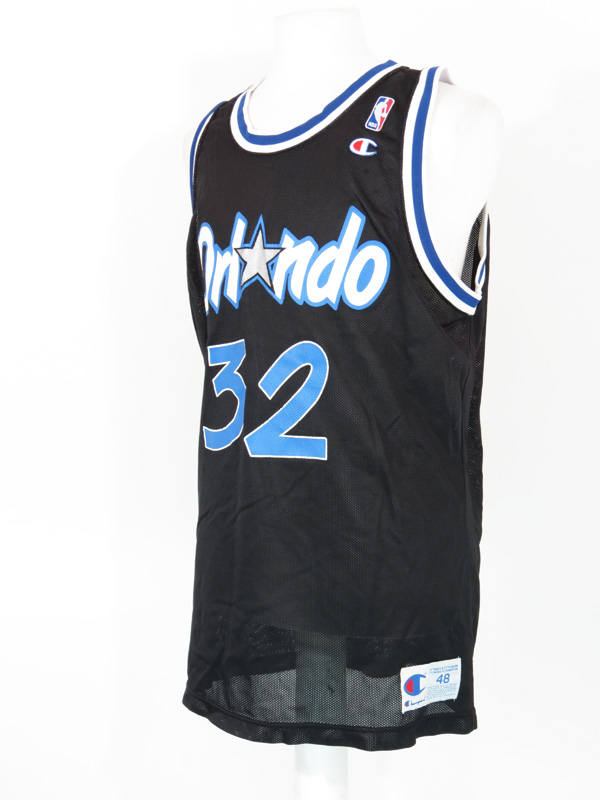 51205bba32b ... discount code for vintage orlando magic shaquille oneal black jersey.  26.50 03d29 6a217