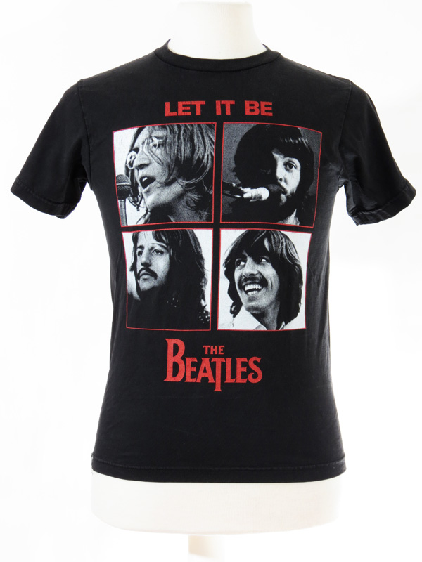 The Beatles Let It Be T Shirt Small 5 Star Vintage