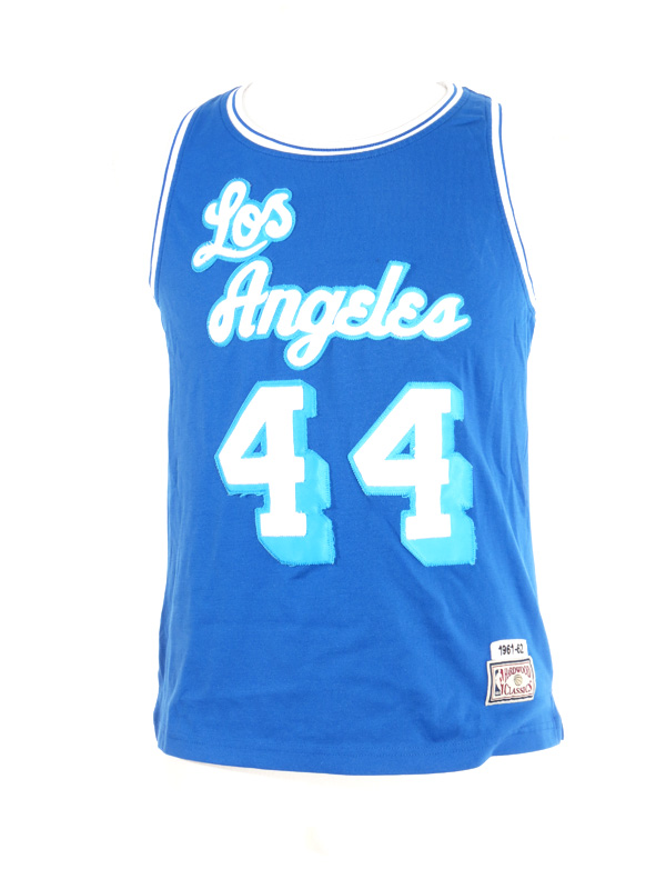 LA Lakers Hardwood Classic Jerry West Jersey Small - 5 Star Vintage e15dfdca4