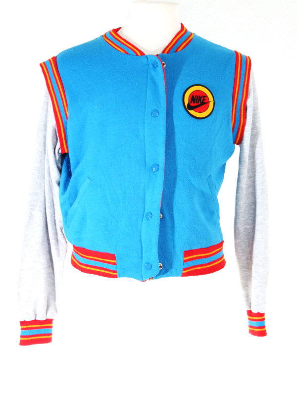Nike Tag Blue 80s Vintage Sweater 5 Star Zip Orange Yellow AS4dqwndTx